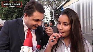 Strange video of a mexican girl near Andrea Dipre
