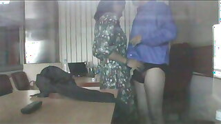 Indian Office  Dark Secrets.  Teen in College comes for a job ends up giving a Blowjob gets a Cumshot Facial on Spy Cam
