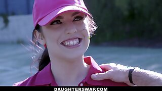 Swapping daughters - Teen Tennis Stars Ride Stepdads Cock - Pornstar