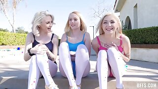 Sia Lust, Dixie Lynn Added to Lola Fae dispose teen intercourse
