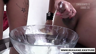 Cum Cocktail! Silvana Jerks withdraw dozens be beneficial to Guys, bukkake.xxx