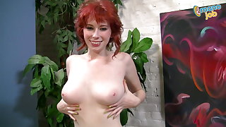 Must watch, 18 Y.O. Zoey Nixon with all-natural 32DD's!