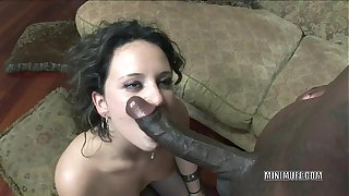 Brunette cutie Cami Smalls gets her tight pussy roundish