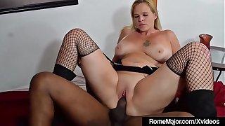 Black Knight Rome Major Wrecks Blonde Pinky 702 Here His BBC
