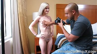 Private Casting X - This kitten Skylar Green never says Hardly any teen porn