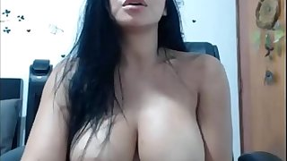 Hot girl masturbating in Webcam - Live sex with Girlfriend