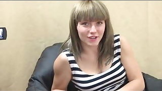 She cry out for it! Maria finally tastes a cock other than her BF's