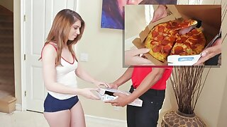 BANGBROS - Here's That Sausage Pizza You Ordered, Joseline Kell LOL
