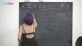 SUGARBABESTV : GREEK SCHOOL ORGY